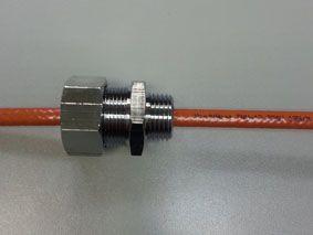 """Муфта напорная для ввода кабеля внутрь трубы 1/2"""""""