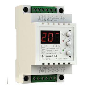 Терморегулятор для теплого пола Terneo K2 двухзонный