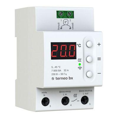 Терморегулятор Terneo Bx с WiFi управлением в щит